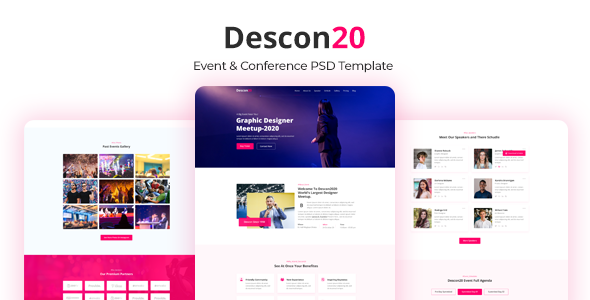 Descon Event amp Conference PSD Template TFx