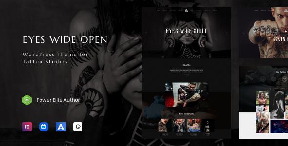 EWO – Tattoo Studio WordPress Theme TFx