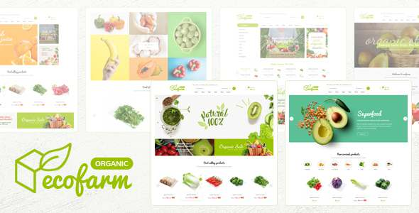 Ecofarm – Clean Minimal Magento 2 Theme TFx