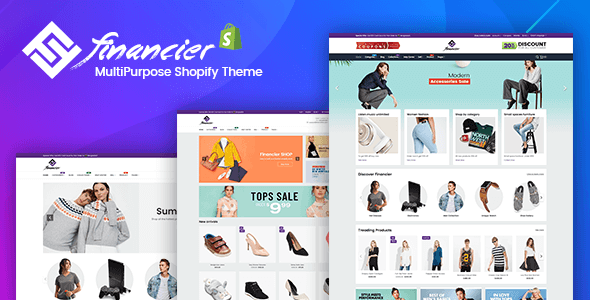 Financier – Multipurpose Responsive Shopify Theme TFx