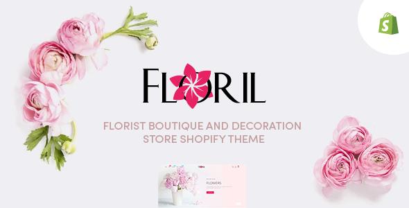 Floril – Florist Boutique amp Decoration Store Shopify Theme TFx