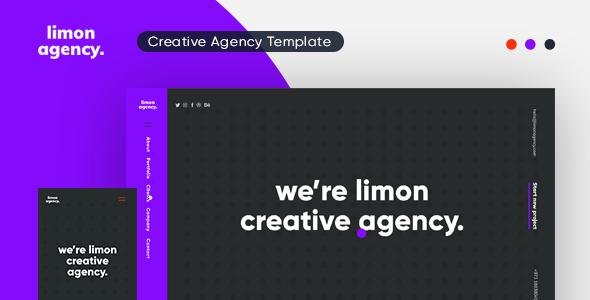 Limon Creative HTML Template TFx SiteTemplates