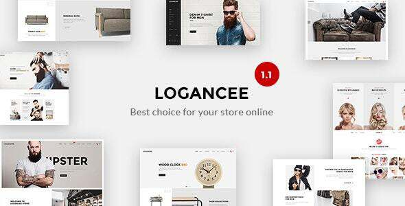 Logancee - Premium React Ecommerce Template TFx