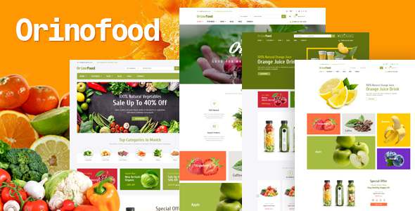 Orinofood - Organic Opencart Theme TFx OpenCart