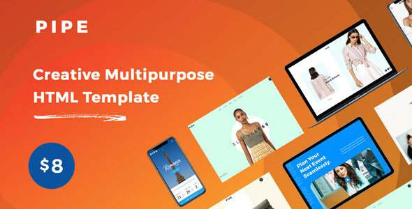 Pipe – HTML Responsive Multi Purpose Template TFx