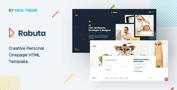 Robuta - Personal Onepage HTML Template TFx