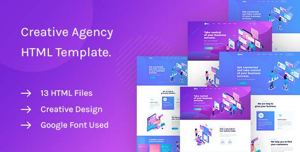 Saku - Agency And Business HTML Template TFx