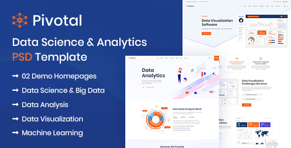 Pivotal - Data Science amp Analytics PSD Template TFx