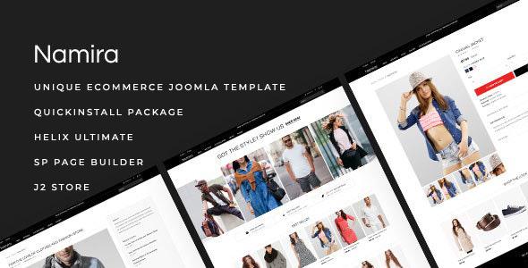 Namira - Unique eCommerce J2Store Joomla Template TFx