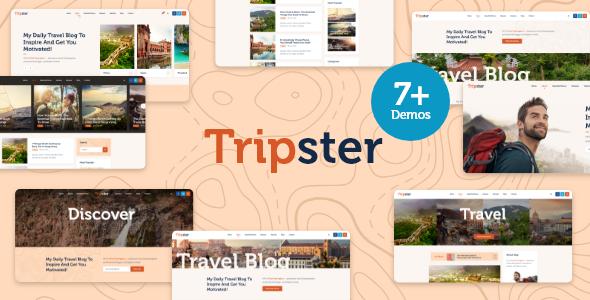 Tripster – Travel amp Lifestyle WordPress Blog TFx