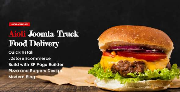 Aioli - Food Truck Delivery TFx Joomla