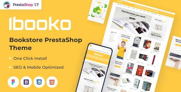 Ibooko - Responsive Bookstore PrestaShop Theme TFx