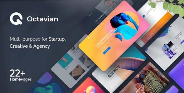 Octavian - Multipurpose Creative PSD Template TFx
