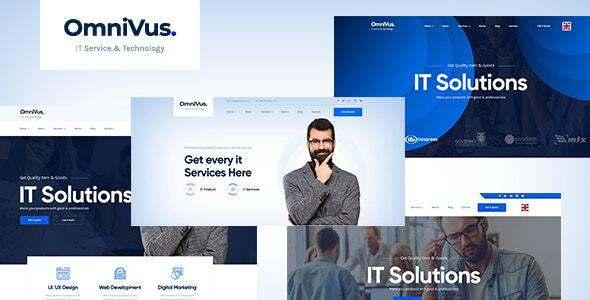 Omnivus - IT Solutions amp Services Drupal 88 Theme TFx