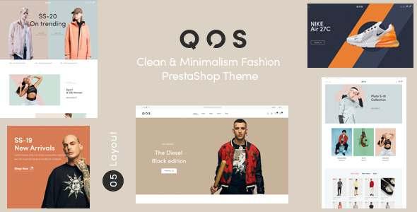 QOS - Minimal Fashion PrestaShop Theme TFx