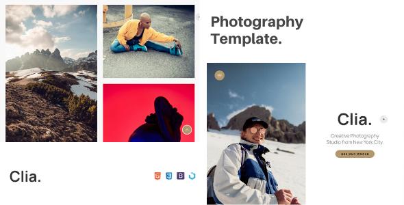 Clia  Creative Photography Template TFx