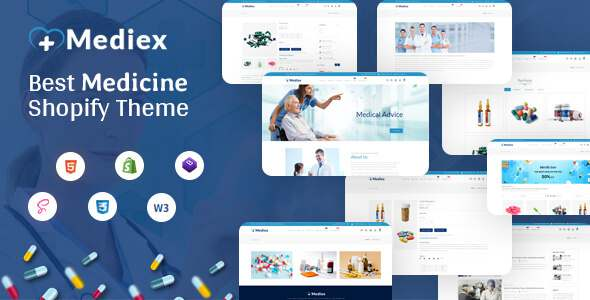 Medix - Medical Shop Shopify Theme TFx Shopify