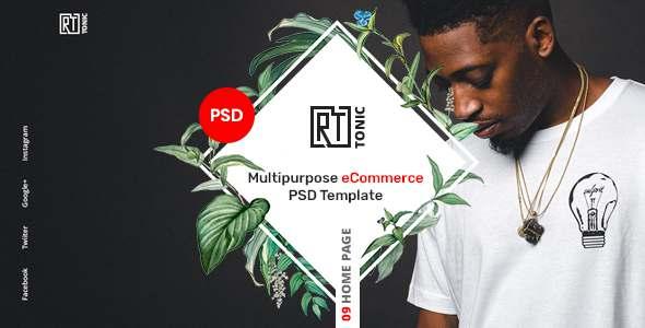 RT Tonic - Multipurpose eCommerce PSD Template TFx