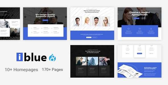 iblue - Responsive Multi-Purpose Drupal 8 Theme TFx