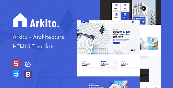 Arkito – Architecture HTML Template TFx