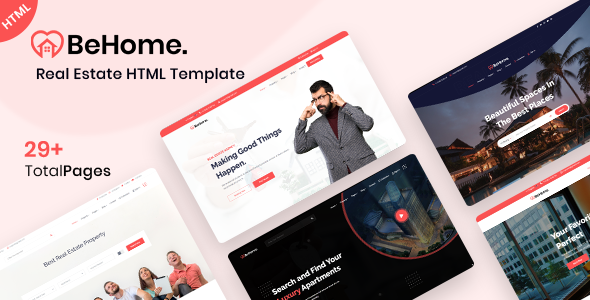 BeHome – Real Estate HTML Template TFx SiteTemplates