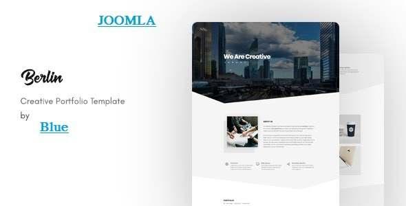 Berlin - OnePage Portfolio Joomla Template TFx