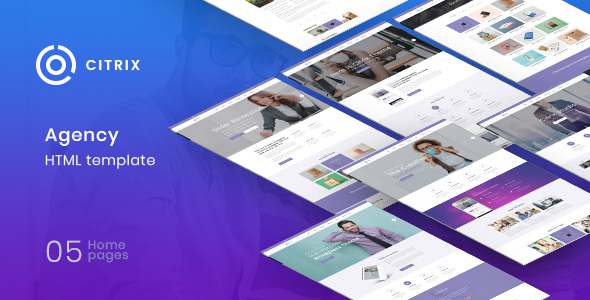 Citrix – Agency Multipurpose HTML5 Template TFx