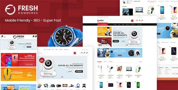 Freshcom Digital - Responsive Shopify Theme TFx