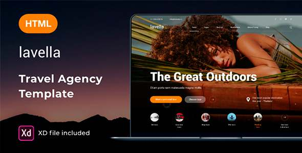 Lavella  Tour amp Travel Agency Template TFx