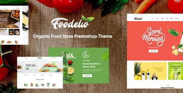 Leo Foodelic - Organic Food Store Prestashop Theme TFx