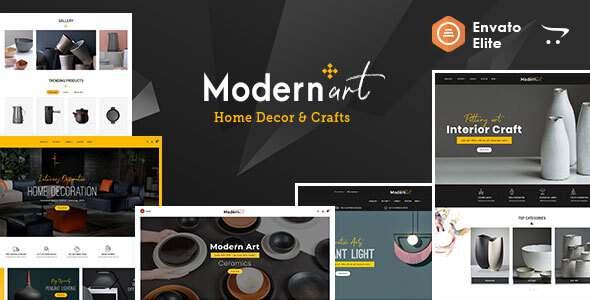 Modern Art - OpenCart Multi-Purpose Responsive Theme TFx