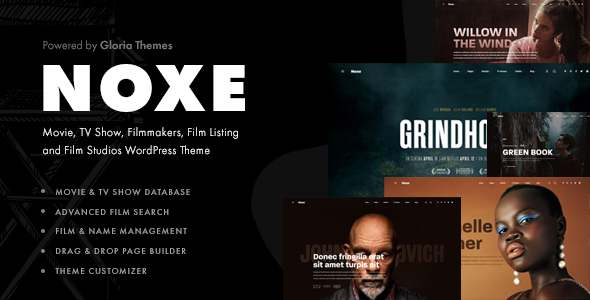 Noxe - Movie Studios and Filmmakers Theme TFx