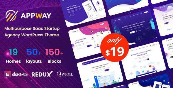 Appway – Saas amp Startup WordPress Theme TFx