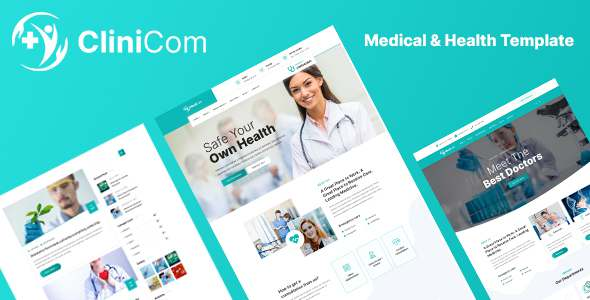 Clinicom – Medical amp Health Template TFx