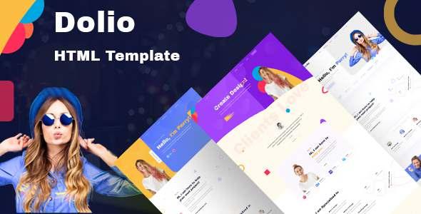 Dolio – Personal Portfolio Template TFx