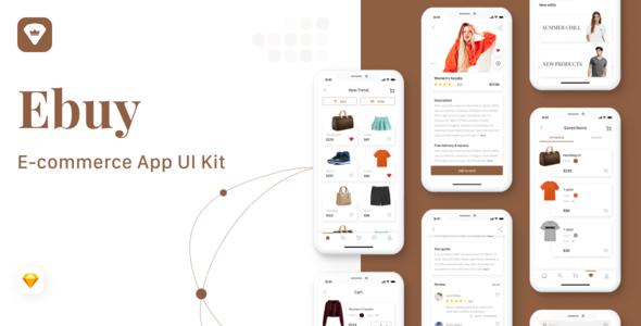 Ebuy - E-commerce Market App UI Kit TFx