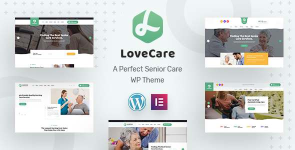 Lovecare – Senior Care WordPress Theme TFx