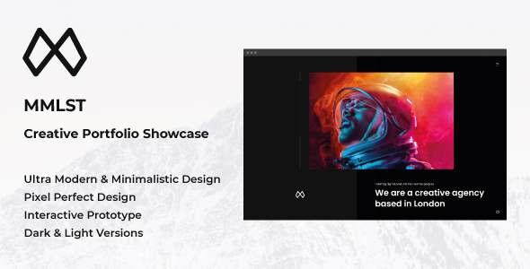 MMLST - Creative Portfolio Showcase Figma Template TFx