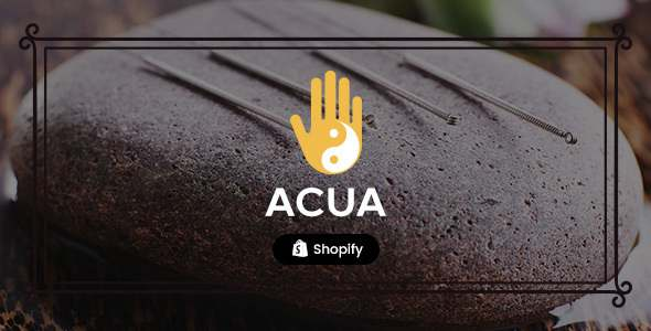 Acua – Shopify Medical Store Health Shop TFx