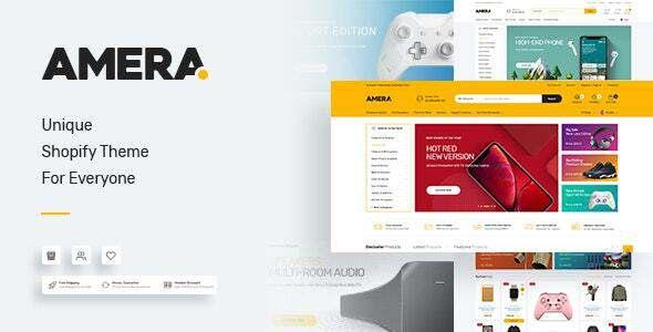 Amera - Multi-Purpose Premium Responsive Shopify Themes TFx