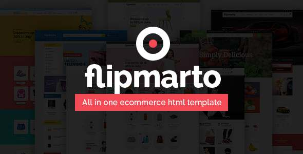 Flipmarto – eCommerce Bootstrap 4 HTML Template TFx