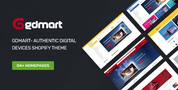 Gdmart- Authentic Digital Devices Shopify Theme TFx