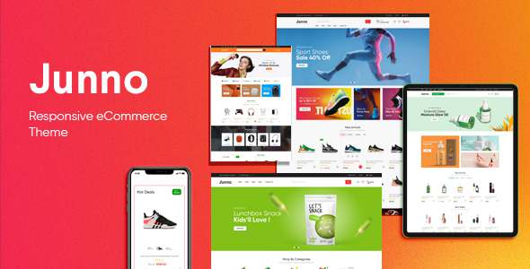 Junno - Responsive OpenCart Theme Included Color Swatches TFx