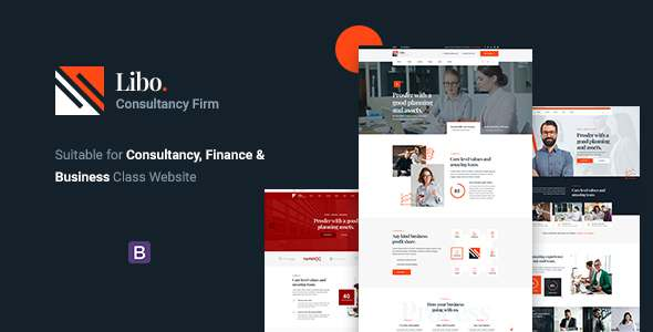 Libo – Consulting Business HTML Template TFx