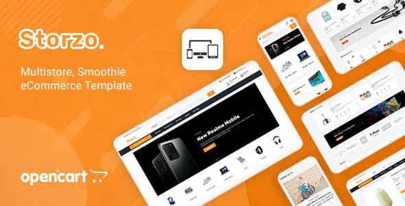 Storzo - Multipurpose E-commerce Opencart 3 Theme TFx