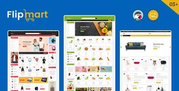 Flipmart - Supermarket Prestashop Theme TFx