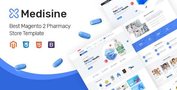 Medisine – Drug and Medical Store Magento 2 Theme TFx