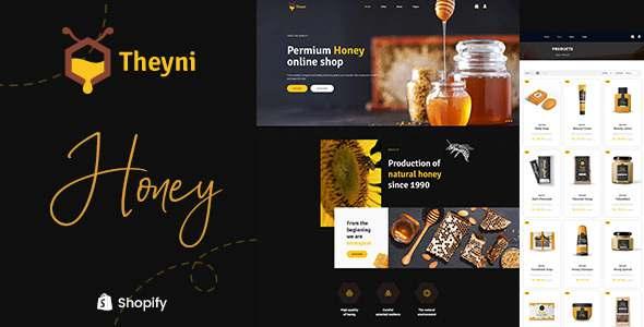 Theyni - Organic Honey Store Shopify Theme TFx