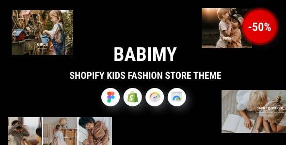 Babimy - Shopify Kids Fashion Store Theme TFx