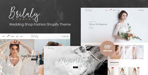 Brilaly - Wedding Shop Fashion Responsive Shopify Theme TFx